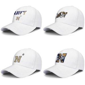 Maryland Navy Midshipmen Fußball-Logo Männer Frauen Einstellbare Ball Hüte Classic Golf Hat Kokospalme Wortmarke Mesh Gay Pride Regenbogen