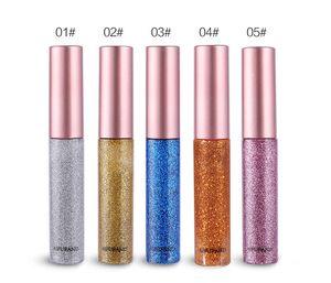 AIFUFAND Glitter Liquid Eyeliner Pen ombre à paupière liquide 10 Couleurs Metallic Shine Eye Shadow Liner DHL Livraison Gratuite