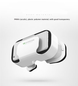 VR SHINECON BOX 5 Mini VR Glasses 3D очки Очки виртуальной реальности VR гарнитура для Google cardboard Smartp