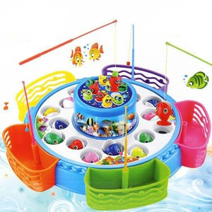 Fashion And Colorful Children's Magnetic Fishing Toy A Variety Of Styles Electric Fishing Toys Kid's Gift For Outdoor Games