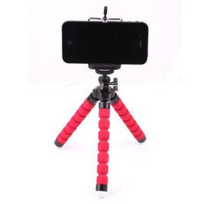Мини гибкая камера Держатель телефона гибкий осьминог штатив кронштейн Подставка держатель крепление монопод для iphone 6 7 8 plus смартфон
