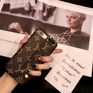 Guscio della cassa del telefono da polso della lettera inglese stampata per iphone XS MAX XR X 7 7plus 8 8plus 6 6plus cover posteriore rigida
