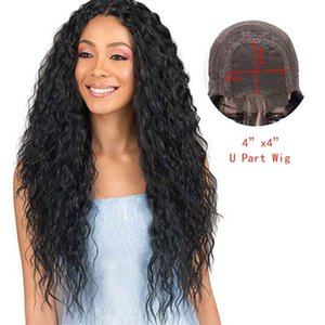 Human Hair Wigs 4x4 Lace Front Wigs Brazilian Curly Glueless Hair Wigs For Black Women 8-24 Inch