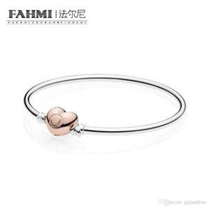 FAHMI 100% Argent 925 originale 586268 Charm Bracelet Tempérament authentique Mode Rétro Glamour Bijoux de mariage des femmes