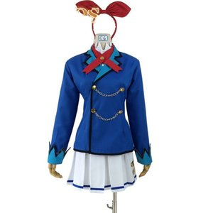 2020 Aikatsu! design Hoshimiya Ichigo Cosplay Costume lolita sailor party dress halloween costume suit Customized Accepted