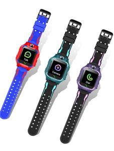 niños Q19 inteligente del reloj de libras que colocan lacation SOS cámara del teléfono inteligente Baby Watch chat de voz SmartWatch Epacket gratuito