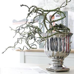 ramas secas artificiales, grandes ramas del arte deco, arreglos florales, arreglos florales y plantas de flores artificiales