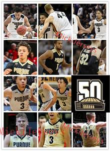 Mens personalizado Purdue Boilermakers Basketball Jersey Carsen Edwards Evan Boudreaux Grady Eifert Matt Haarms Kyle Rei Ryan Cline Purdue Jersey