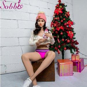 Sobbie sex shop 170см реалистичная секс кукла для рождественского подарка реалистичная грудь влагалище оральный анал американская девушка как мужчина настоящая любовь fuckdoll