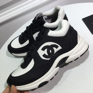 Partem a sapatilha Mulher Mens Shoes Lace up design Low Top Moda Casual Sports Shoes entrega rápida