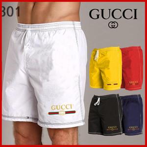 Shorts Gucci New Board Shorts dos homens do polo de Verão Praia Shorts Calças de alta qualidade Swimwear Carta Surf Bermuda Masculino Vida Homens Natação de surf
