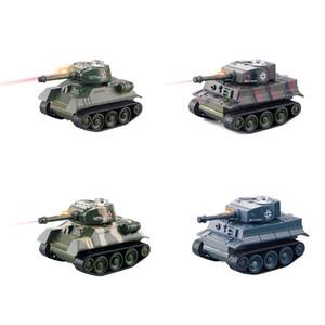 Mini RC Tank Car 4CH Radio RC de véhicules légers Effet Fort Rotatif 4 couleurs Enfants cadeau de Noël LA323