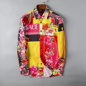 Italian luxury Fashion printed long sleeve shirt T Shirt luxury designer Mens Summer Short Sleeve T Shirts Emboridered Crewneck Casual Tops