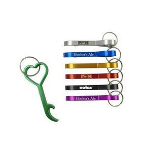 Personalized Key Holder Wedding Favor Love Heart Bottle Opener Key Ring Personalized Wedding Party Favor Free laser logo LX0852