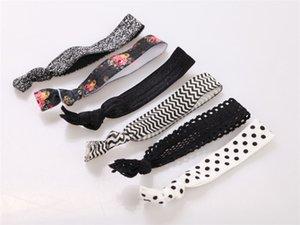 cuerda elástica colorido hairband 19 puntos diseños florales rayas de la bandera america árbol de Navidad cintas para el pelo de moda las mujeres handband BFJ635