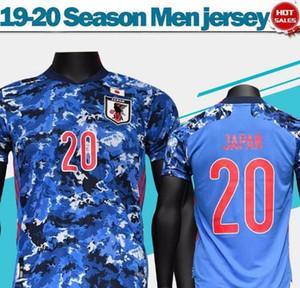 2019 2020 일본 홈 축구 유니폼 # 4 HONDA 국가 대표팀 축구 셔츠 # 10 카가와 # 9 오카자키 남자 축구 유니폼