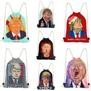 Chains Hot Trump Shoulder Bag de alta qualidade Moda Mochila Canvas presbiopia Tote Bolsas Mensageiro Trump Backpack # 278