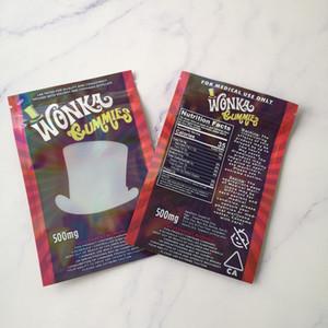500мг Пустой WANKA жевательный мармелад конфеты Упаковка мешок промозглый канатные полудурков Rope конфеты полудурков канатные Gummy сумки