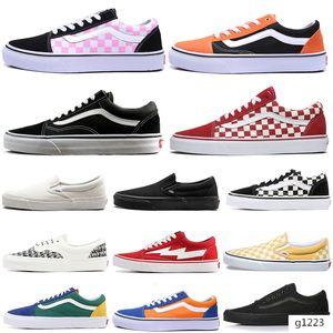 van zapatos de diseño original, viejo temor de dios skool mujeres de los hombres de skate zapatillas de deporte de la lona hombre de la moda entrenador deportivo Alpargatas zapatos casuales