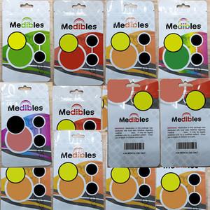 OEM serratura della chiusura lampo Borse Fiore Packaging Medibles commestibili Mylar Borse Odore prova Vuoto Stand-up Pouch 300mg secco Herb caramella gommosa pacchetto del sacchetto 15X9CM