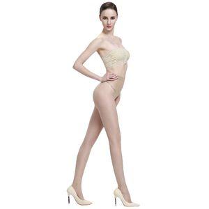 LANSWE high quality Cored wire Ultrathin women tights bikini crotch sexy lady Brand Pantyhose langsha