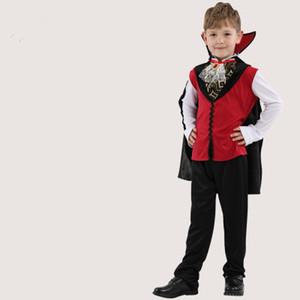 Kostenloser Versand Halloween Kinderbekleidung Devil Devil Set Tisch Leistung Kostüme Geist Kleidung Bat Vampire Kleidung