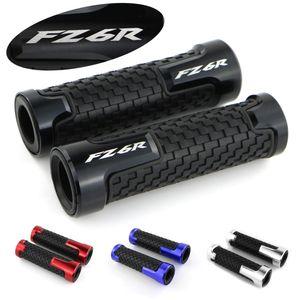 Para FZ6R Accesorios de motos manillar empuñaduras de aluminio CNC Ninguno de goma antideslizante