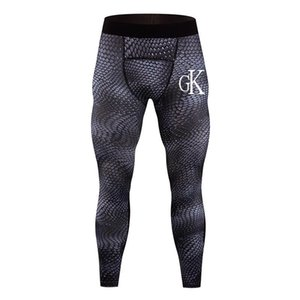 print Camouflage Compression Tights Herren Laufhose Training Fitness Leggings Men Gym Jogginghose Jogginghose