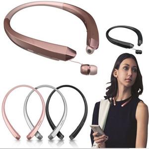 50X Bluetooth Handfree HBS 910 наушники стерео гарнитура 4.0 Bluetooth гарнитура беспроводные наушники микрофон спортивные наушники с коробкой
