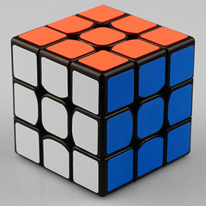 Quebra-cabeça Cubo Mágico Vívido Cores 3x3 Fácil Torneamento Smooth Play Perfeito para Cubo Cubing Brinquedo Educacional