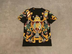 2020ss Mensentwerfer T-Shirts kurze Ärmel Männer Markenkleidung und weisen Rhinestone Schädel Frauen T-Shirt männlich hochwertige Baumwolle T-Shirts 062