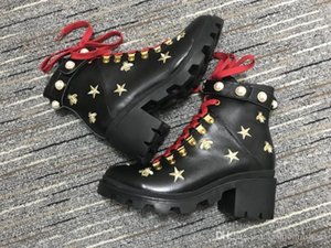 red bottoms air martin GG Women's Australia Classic kneel Boots Ankle boots Imitation Pear Leather embroidered motocycle women boot