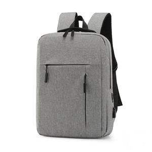 15.6inch Laptop Backpack ricarica USB antifurto zaino degli uomini di corsa dello zaino impermeabile sacchetto di scuola maschio caldo