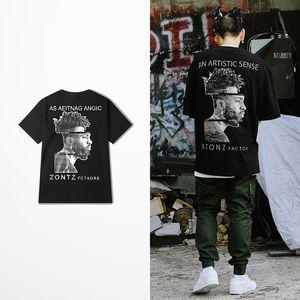 Questa T-shirt da Uomo High Street rock punk ballo magliette maschile Top Tee