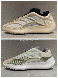 2020 New 700 V3 GID White Grey Green Glow In The Dark Mens Womens Running Shoes Sports Designeyezzysyezzyboost350v2