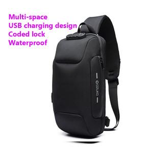 OZUKO 2020 новая многофункциональная сумка через плечо для мужчин противоугонные сумки на плечо мужская водонепроницаемая короткая дорожная сумка на грудь