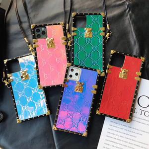Designer-Telefonkasten für iphone 11 Pro Max XR XS max 7/8 Plus PU Fashion Models Telefon zurück für Samsung S8 S9 S10 s20 Plus HINWEIS 9 10 PLUS Fall