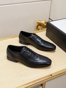 Adam 38-44 eur 2020 Kalite Lüks Tasarımcı Erkek İş Elbise Ayakkabı Modern Gerçek Deri Moda Flats Ayakkabı Resmi elbise ayakkabı