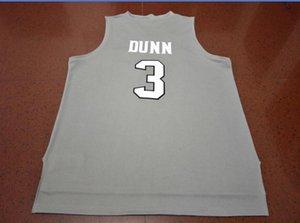 Vintage Özel Erkekler Gençlik kadınlar 3. Kris Dunn Yeni Malzemeler Çift Basketbol Jersey Boyut S-6XL veya özel herhangi bir ad veya numara forması