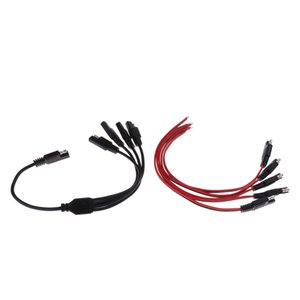 Brand New 1 bis 4 SAE Stromverlängerungskabel-Stecker-Adapter + 2 Fuß Quick Connect-Stecker