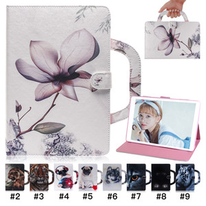 Painted Pattern Tablet Case for Samsung Galaxy Tab A 8.0 P200 T290 T510 T590 P610 T860 T720 T830 Handbag Style iPad Pro 11 Cover Case