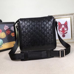 Uomo in pelle Cartella New Soft Borse uomini d'affari Laptop Bag Messenger Bag Casual Formal Cartella