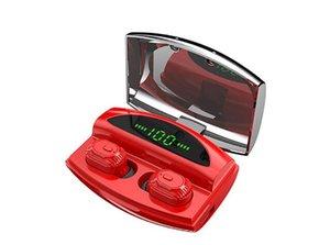 TWS سماعة بلوتوث XG20 سماعات لاسلكية 5.0 الرياضة سماعة مع شاشة LED 1800mAh وتجدد powerbank الصورة airdots F9 لفون × 11 عالميا