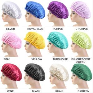 여성 레이스 잠자는 방수 샤워 캡 레이스 돔 나이트캡 파마 모자 패션 수영복 헤어 방수 모자 헤어 액세서리 DHA723 캡