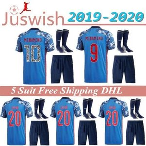 19-20 Japon adultes Set Accueil Soccer Jerseys 2020 Coupe d'Europe #HONDA # OKAZAKI #ATOM #KAGAWA japonais hommes kit customize Football Shirt Uniforme