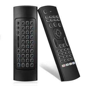 안드로이드 스마트 TV 박스 T95Z 플러스 / X96 미니 H96 미니에 대한 백라이트 MX3 플라이 에어 마우스 2.4G 무선 원격 제어 키보드