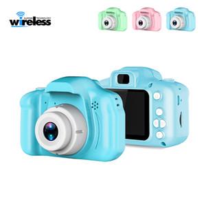 2 pulgadas pantalla HD Chargable Digital Mini cámara de dibujos animados lindo de la cámara juguetes accesorios de fotografía al aire libre para niños regalo de cumpleaños