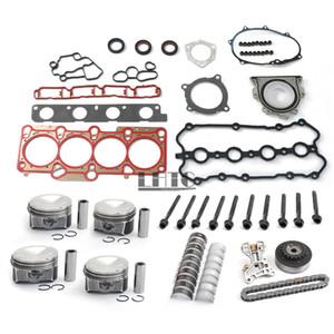Motor Rebuild Revizyon Pistons Seti VW Golf R Audi S3 Için TTS Koltuk Leon Cupra R