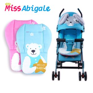 MissAbigale Baby Stroller Seat Cushion Cotton Diaper Changing Nappy Pad for Baby New Born Kids Children Stroller Mat Accessories