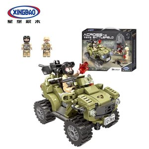 06010 military tank assembly building block science and education model toy gift